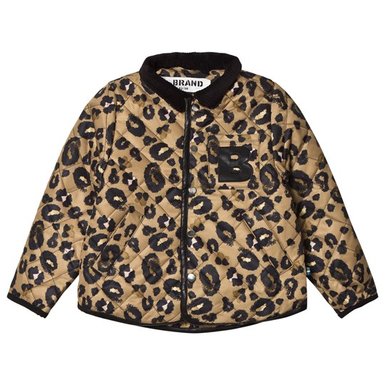 The BRAND Quilted Jacket Leopard