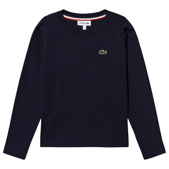 Lacoste Navy Long Sleeve Tee 166