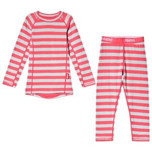 Image of Reima Narvik Thermal Set Strawberry Red 140 cm (9-10 år) (3125305901)