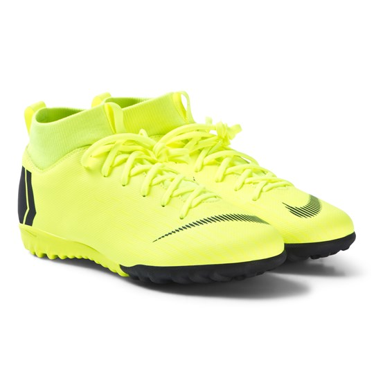 NIKE Mercurial X Superfly 6 Academy Turf Soccer Boots Volt 701