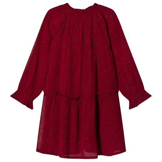 Noa Noa Miniature Long Sleeve Dress Rhubarb Rhubarb