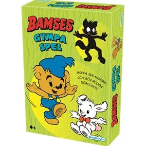 Image of bamse Bamse Gymnastics Game (SWE) 4 - 7 years (848472)