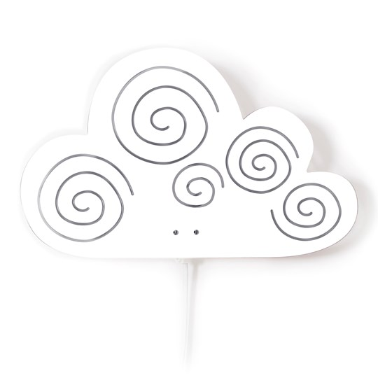 Roommate White Cloud Wall Lamp Multi