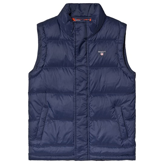 GANT Navy Quilted Padded Gilet 433