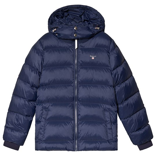 GANT Navy Quilted Puffer Coat 433