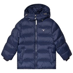 GANT Navy Quilted Puffer Jacket