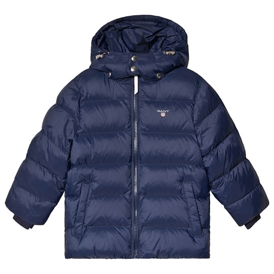 GANT Navy Quilted Puffer Jacket 433