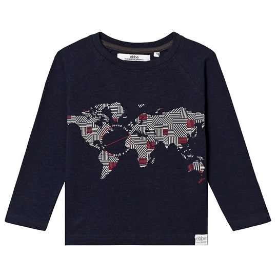 ebbe Kids Ixel Raglan Sweater Dark Denim Melange Dark Denim Melange