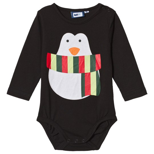 Max Collection Christmas Penguin Baby Body Black Black