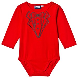Image of Max Collection Christmas Tuxedo Baby Body Red 56 cm (3125232569)