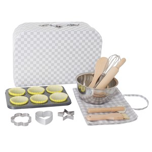 Image of Jabadabado Bakery Set with Case Real Equipment (3125343953)