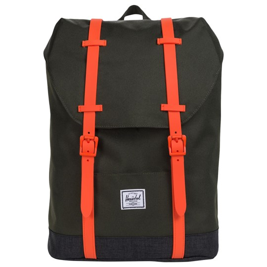 Herschel Retreat Youth Backpack Forest Night/Black Crosshatch Forest Night/Black Crosshatch/