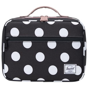 Image of Herschel Pop Quiz Lunch Box Polka Dot/Ash Rose (3125270085)