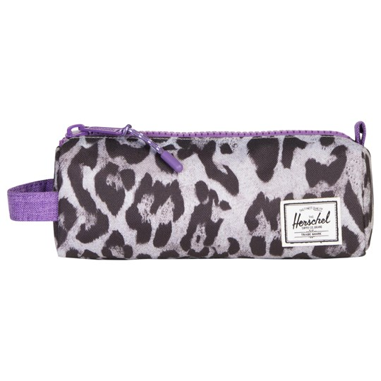 Herschel Settlement™ Pencil Case Snow Leopard/Deep Lavender Snow Leopard/Deep Lavender