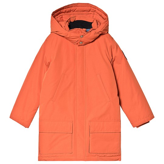 GANT Orange Padded Hooded Parka 220