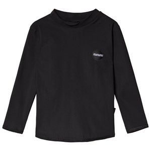 Image of NUNUNU Back Off Long Sleeved Rash Guard Black 3-4 år (3125306985)