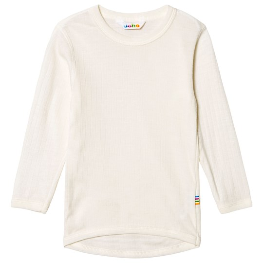 Joha Long Sleeved Shirt Basic Natur White