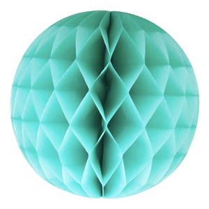 Image of My Little Day Honeycomb Paper Ball - Aqua Large (3125335439)