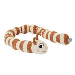 Image of OYOY Leo Larva Toy Off White/Caramel (3125240465)