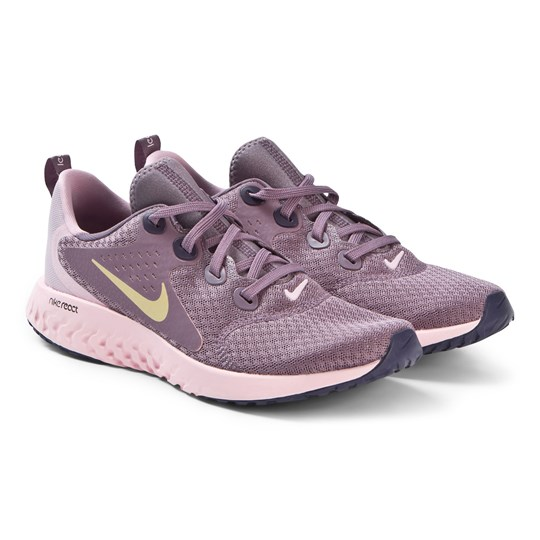 NIKE Violet Dust Legend React Running Shoes 500