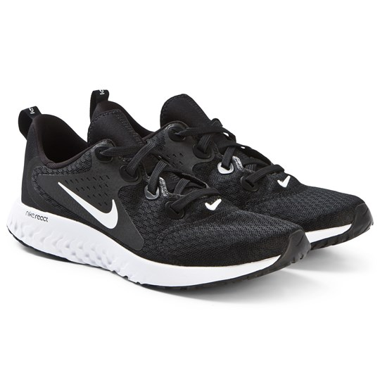 NIKE Black Legend React Running Shoes