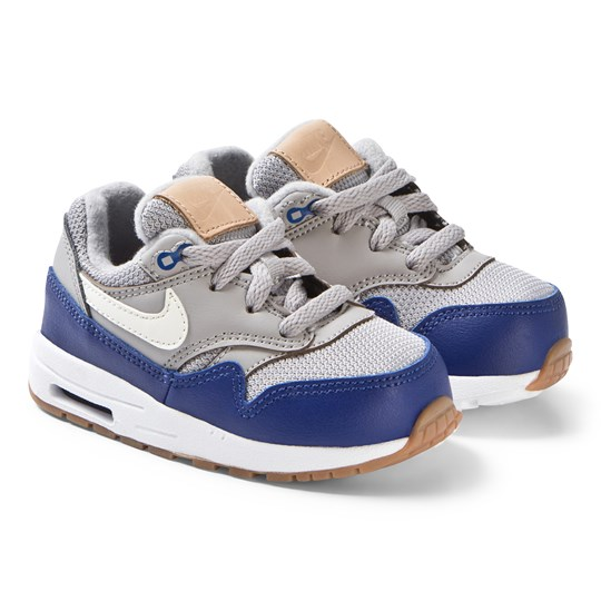 NIKE Atmosphere Grey Nike Air Max 1 Infants Sneakers 010