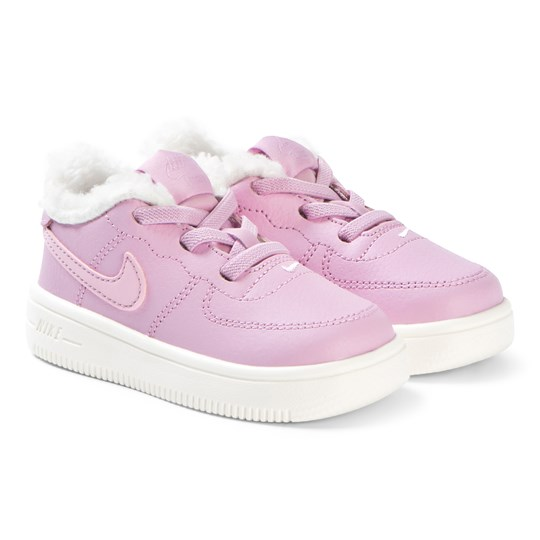 NIKE Arctic Pink Force 1 Infants Shoes 600