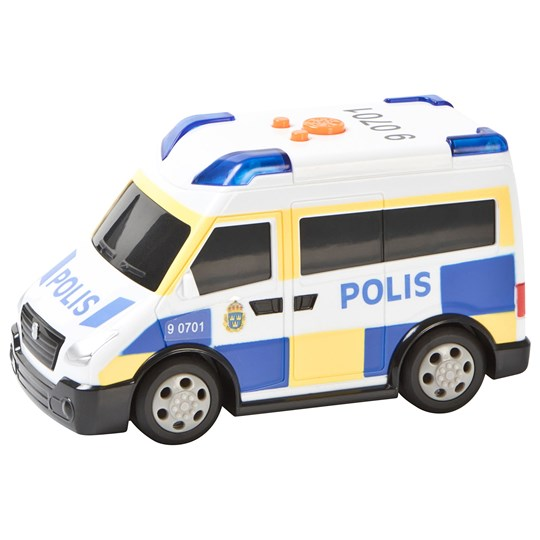 Play Police Vehicle White