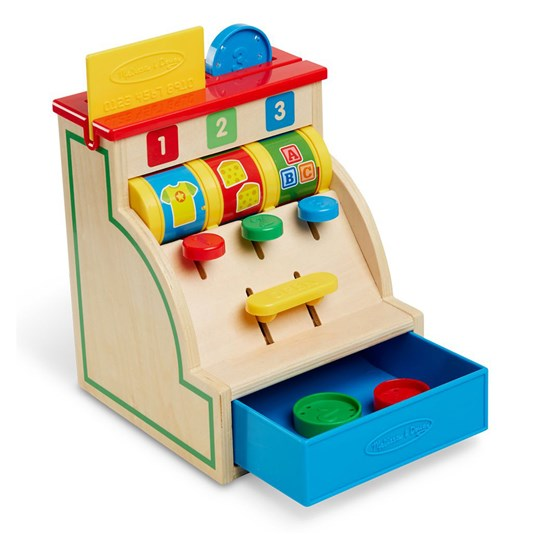 Melissa & Doug Sort & Swipe Cash Register Multi