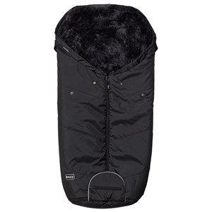 Image of BOZZ Footmuff with Short-Haired Lambskin Black/Grey (3125264621)