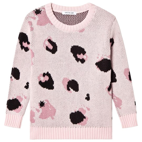 One We Like Knitted Sweater Light Pink Light Pink