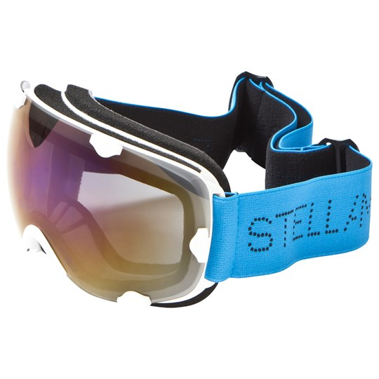 Stella McCartney Kids Blue and White Branded Ski Goggles WHITE-BLUE-BLUE
