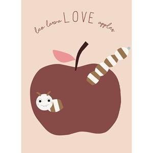 Image of OYOY Love Apples Poster (3125240469)