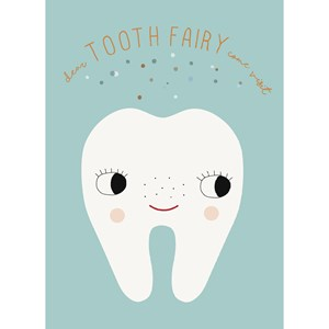 Image of OYOY Tooth Fairy Poster (3125240471)