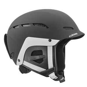 Image of Cébé Dusk Junior Ski Helmet Matte Black/White 51-53cm (1156070)