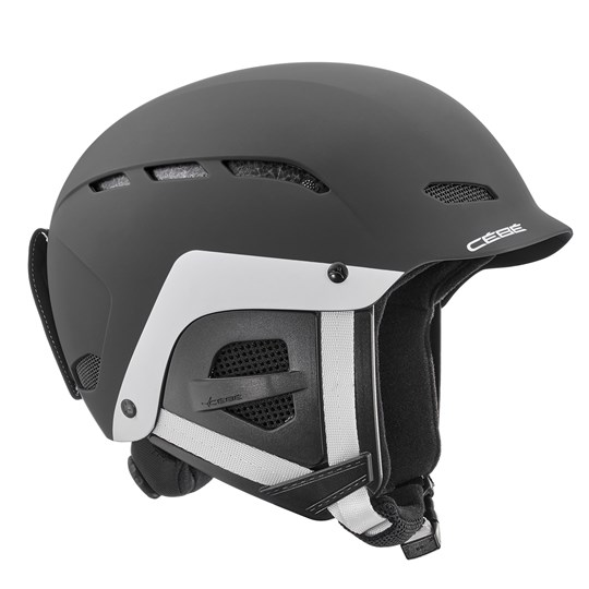 Cebe Dusk Junior Ski Helmet Matte Black/White MATT BLACK WHITE