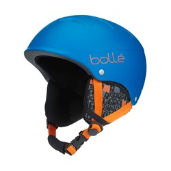 Bollé B-Free Ski Helmet Blue Animals