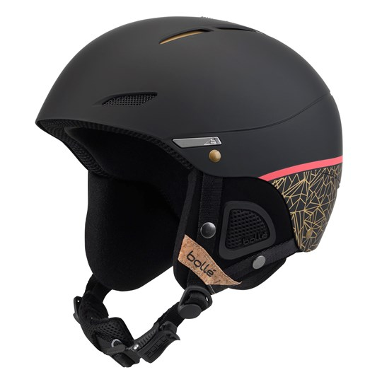 Bollé Black & Rose Gold Juliet Ski Helmet Black Rose Gold