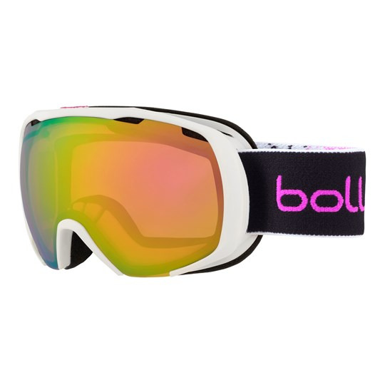 Bollé Royal Ski Goggles Matte White & Pink Spray/Rose Gold Lens Matte White & Pink Spray