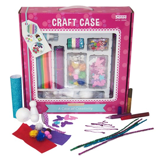 Sense Large Craft Box Red