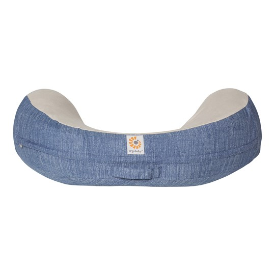 Ergobaby Natural Curve™ Nursing Pillow Vintage Blue Blue