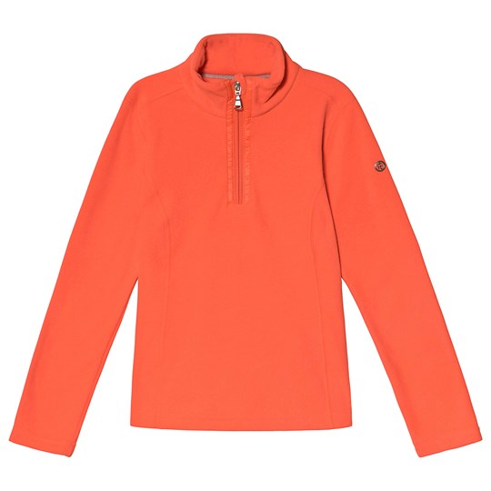 Poivre Blanc 1/4 Zip Fleece Mid Layer Nectar Orange 0112