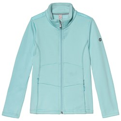 Poivre Blanc Stretch Fleece Zip Mid-Layer Ice Blue