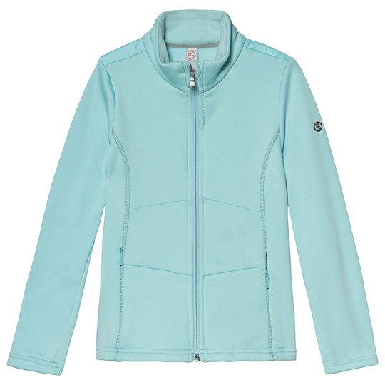 Poivre Blanc Stretch Fleece Zip Mid-Layer Ice Blue 0100