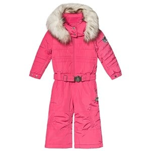 Image of Poivre Blanc Belted Snowsuit Pink 2 years (3125274583)