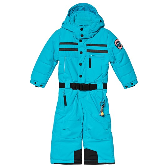 Poivre Blanc Embroidered Back Ski Jacket Vivid Blue 0120
