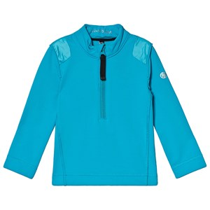 Image of Poivre Blanc Baselayer 1/4 Zip Top Vivid Blue 18 months (1132435)