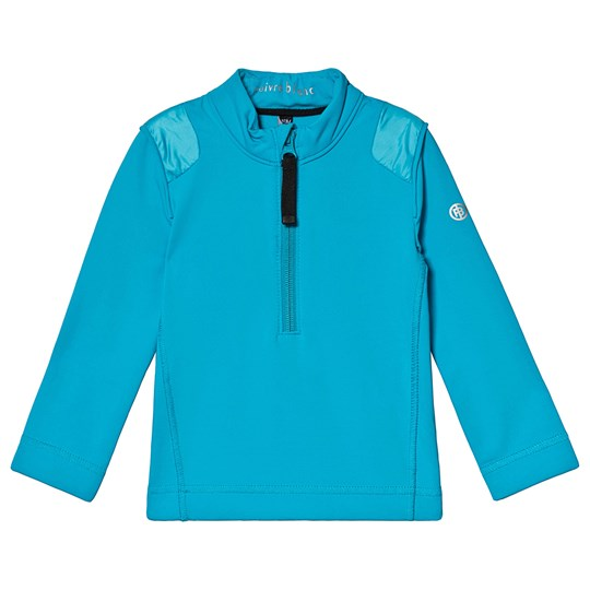 Poivre Blanc Baselayer 1/4 Zip Top Vivid Blue 0120