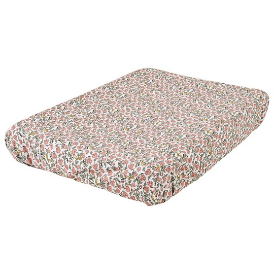 garbo&friends Floral Vine Changing Pad Cover Multi