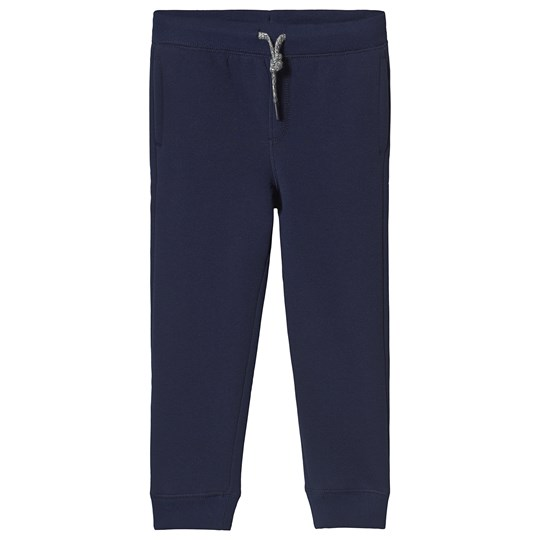 Lands' End Navy Sherpa Lined Joggers HME
